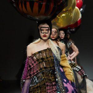 London Fashion Week AW18: Matty Bovan's Balloon World