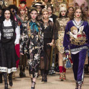 Dolce & Gabbana Fall 2018 Ready To Wear