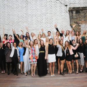 The 2013-2014 Vogue Fashion Foundation Diploma Graduates!