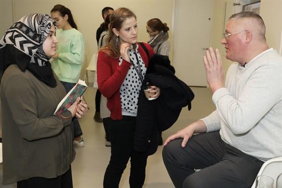 Conde Nast College Talks Giles Deacon030