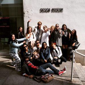 Vogue Summer Course Students Visit the Design Museum!