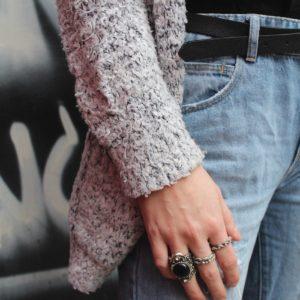 CNC Student Street Style: Grey Days