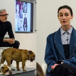 Latest Industry Guests: Model Erin O'Connor & Fashion Designer Patrick Cox