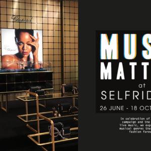 Music Matters at Selfridges