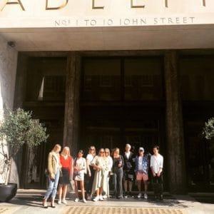 Visit to Condé Nast Headquarters!