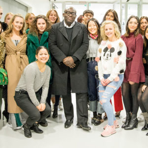 Diversity & The Strong Woman - Edward Enninful Visits CNC London