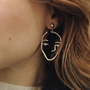 CNC Student Style: Statement Earrings
