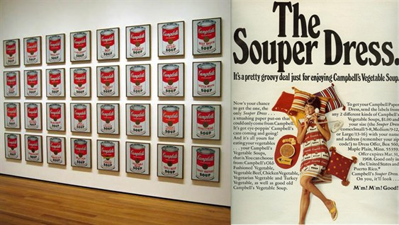 July 9 1962 Andy Warhol Premieres His Campbells Soup Cans At An Exhibition In Los Angeles Copy