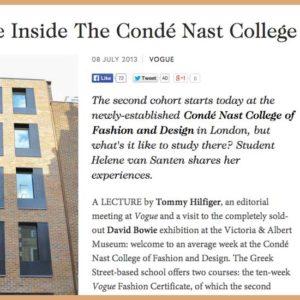 Life Inside The Condé Nast College