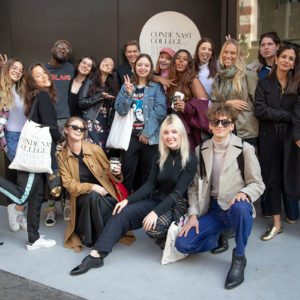 My First Week at Condé Nast College of Fashion & Design
