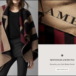 Personalised Fashion?
