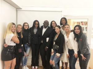 CNC's Vogue Fashion Certificate Students Get A Surprise at Vogue House