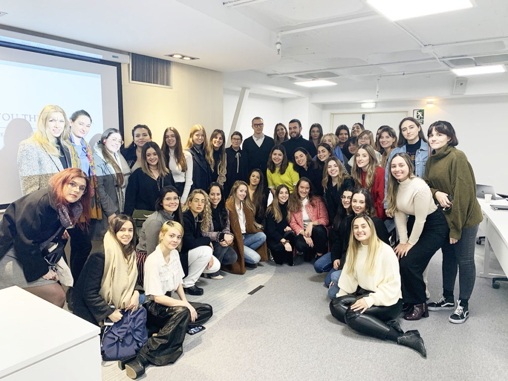 Conde Nast College London visit CNC Spain