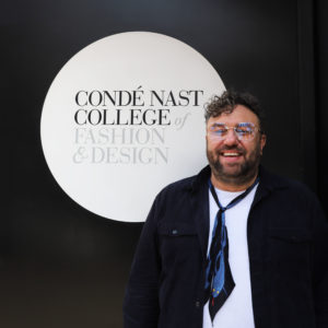 Neil Moodie at the Condé Nast College London