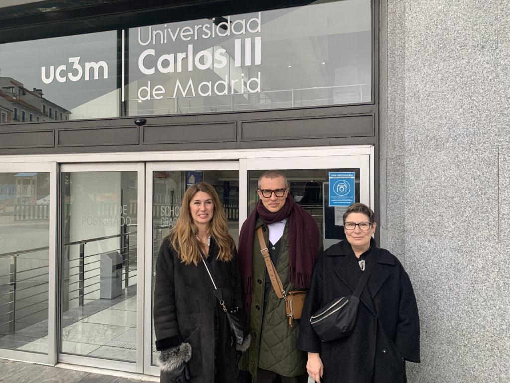 Condé Nast College of Fashion & Design visits Spain