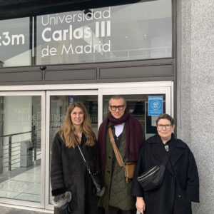 Condé Nast College of Fahion & Design visits Spain