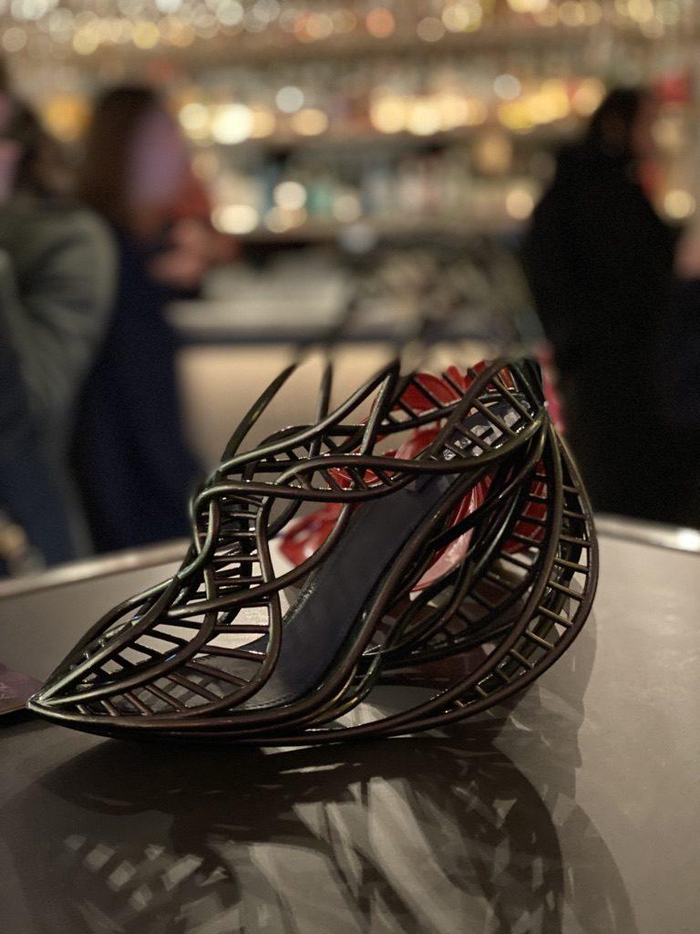 Annie Foo 3D shoe design