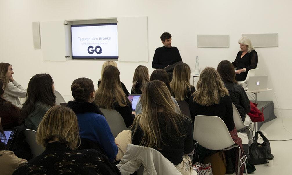 Teo van den broeke at the Condé Nast College