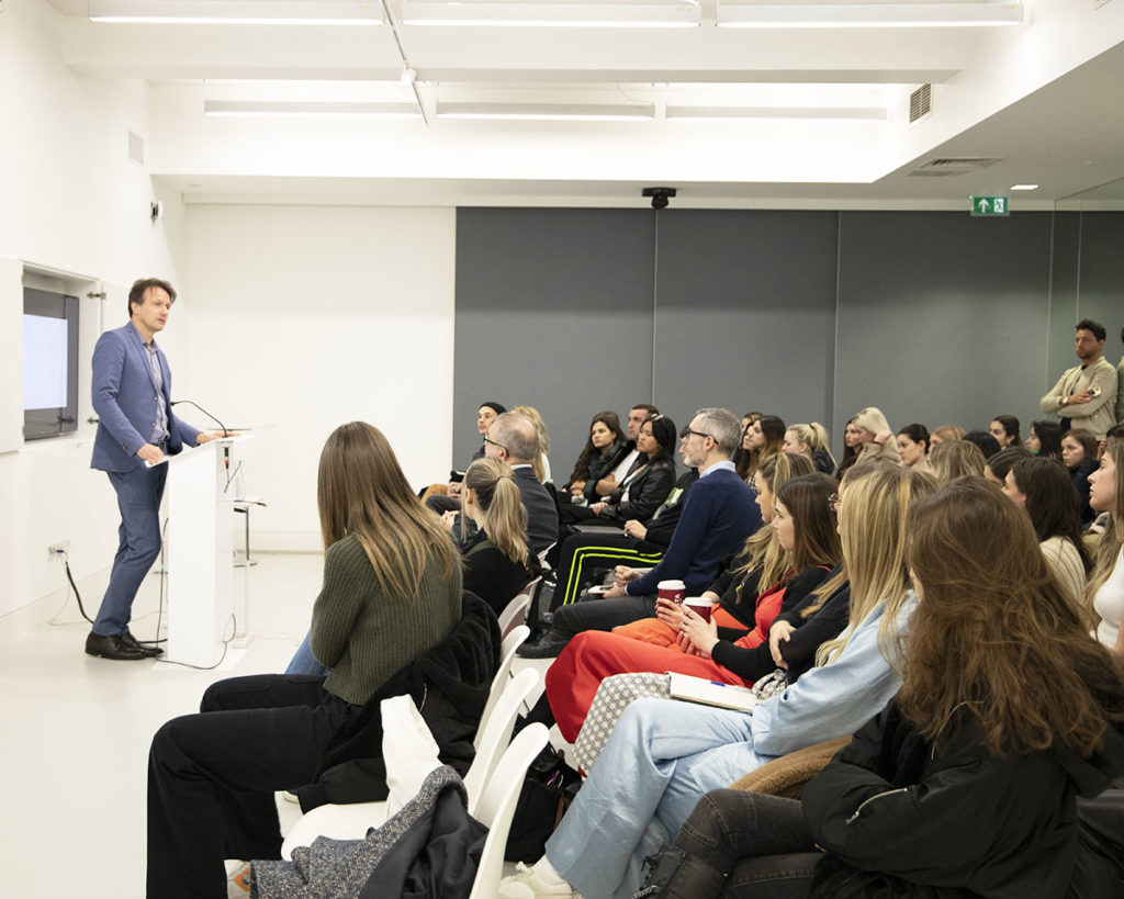 Wolfgang Blau visits the Conde Nast College London