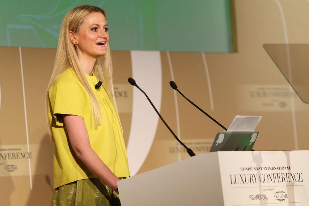 Sophie Hackford Condé Nast College Talk