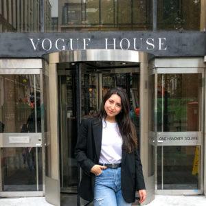 Image showing Paula Beccera, Vogue Fashion Certificate alumna