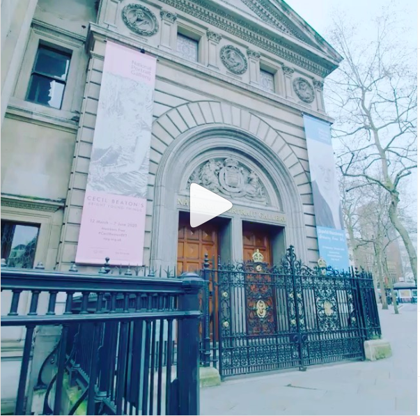 Short film on the National Portrait Gallery show