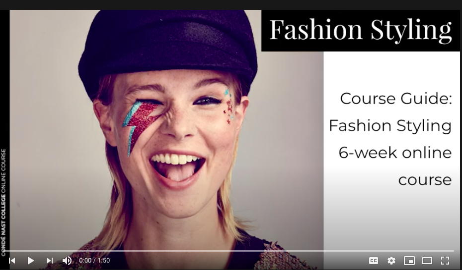 Fashion Styling Online Course Video