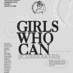 Girls Who Can - Individual Fashion communication project