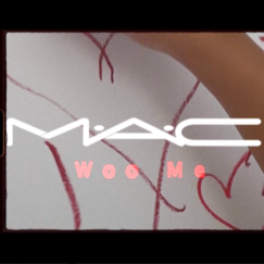 MAC WOO ME campaign image