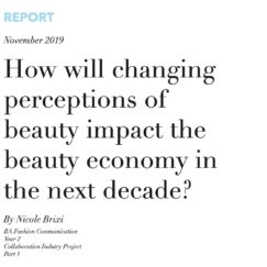 How will changing perceptions of beauty impact the beauty economy in the next decade?