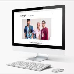 Last Night for Men Website: User Experience