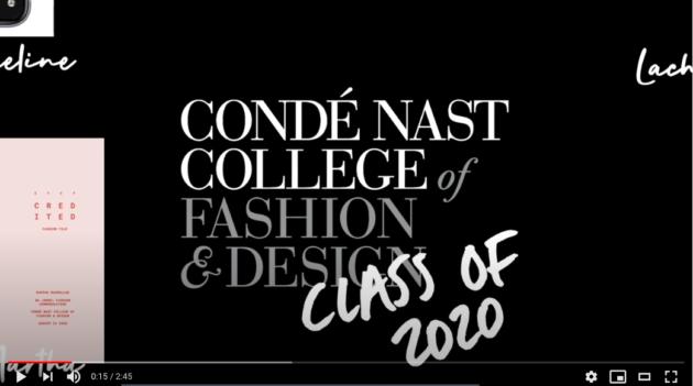 Student Portfolios Class of 2020